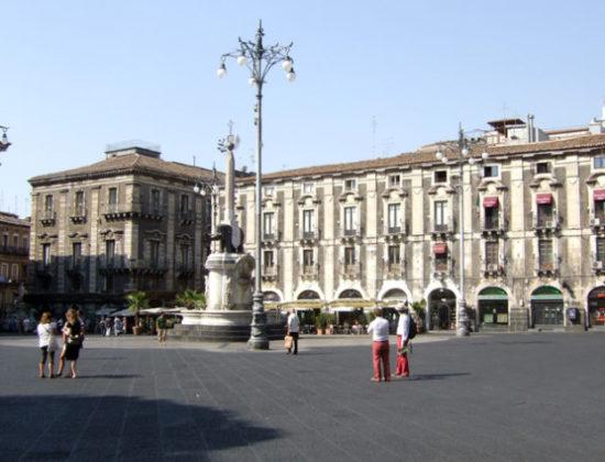 The Jewish neighborhoods of Catania